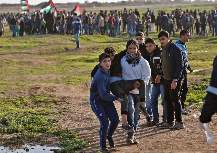 Palestinians in Gaza have been staging demonstrations along the border with Israel for nearly a year, calling on Israel to end its blockade of the enclave