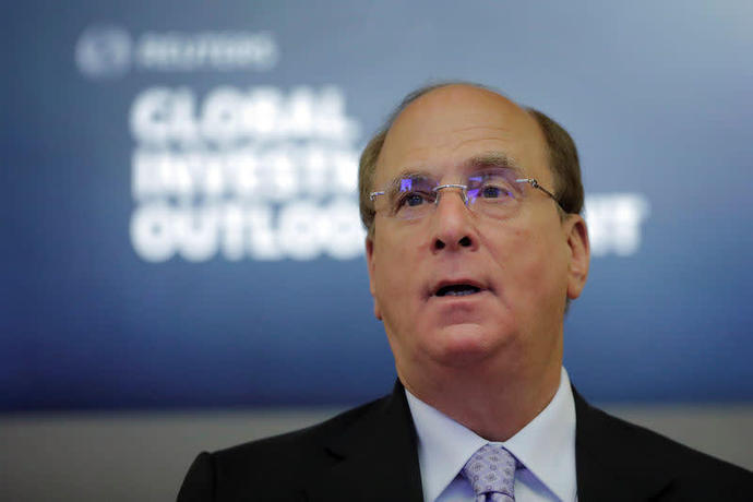 Laurence Fink, founder and chief executive officer of BlackRock, Inc.