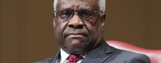 For Kavanaugh, path forward could be like Clarence Thomas