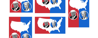 Where the presidential candidates are traveling in the run-up to Election day