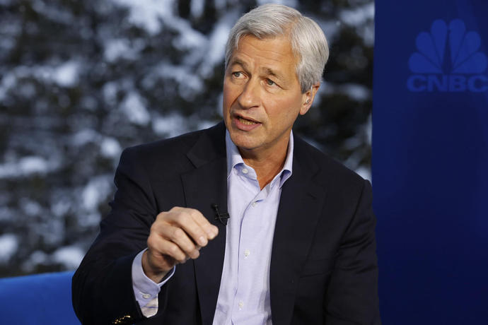 'He Doesn't Have the Aptitude.' President Trump Responds to Jamie Dimon's Comments on Running for President