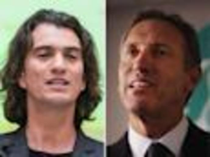 Former Starbucks CEO Howard Schultz once reportedly advised Adam Neumann to stop growing WeWork so quickly and fix its problems. Neumann responded \