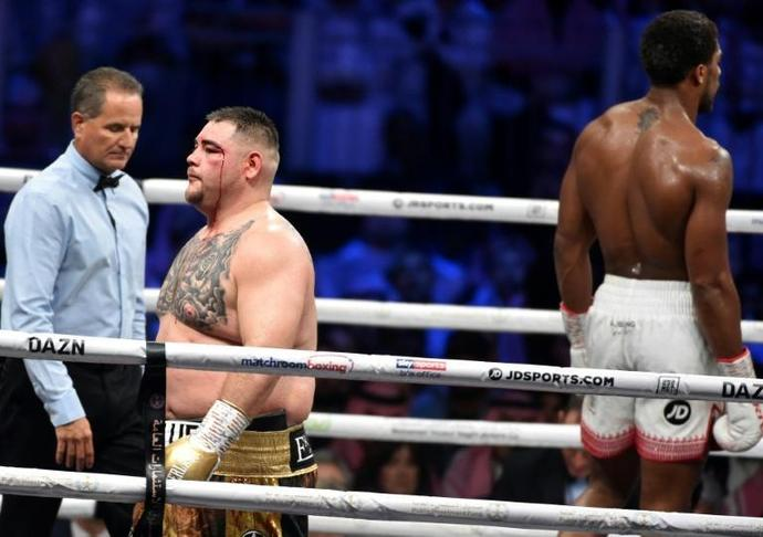 Andy Ruiz says he failed to train seriously for Saturday