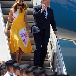Mon dieu! Donald Trump arrives at G7 summit in France amid tensions, threat of tariffs on French wines