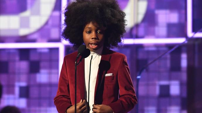 41317e4cfd Diana Ross' Grandson Raif-Henok Is Supremely Adorable In Grammys Speech