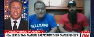 N.J. Gym Owners Drop F-Bombs in Off the Rails CNN Interview