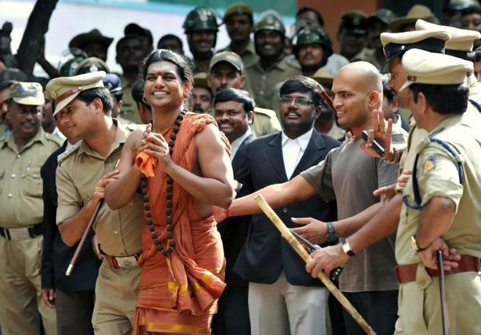 Swami Nithyananda is one of many self-styled Indian