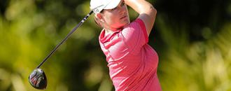 Caroline Masson fears contracting the virus while on the road when LPGA returns