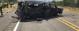 5 dead as SUV chased by Border Patrol crashes in South Texas