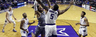 Brown leads No. 25 Kansas State over Georgia State 71-59