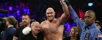 Fury batters Schwarz with second round knockout