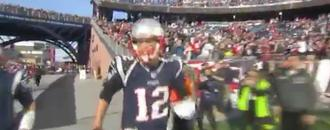 Watch: Tom Brady Tells Cameraman to Get the