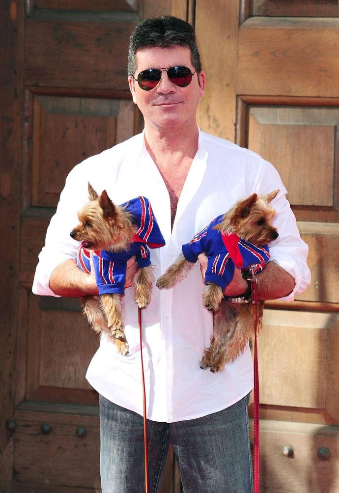 Simon Cowell is doing what he can to help close a dog meat farm in South Korea