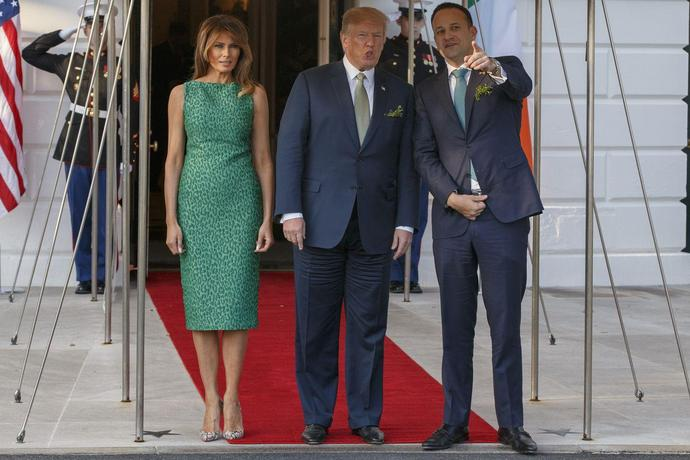 Melania Trump Just Wore The Most Stunning Yellow Gown While Heading