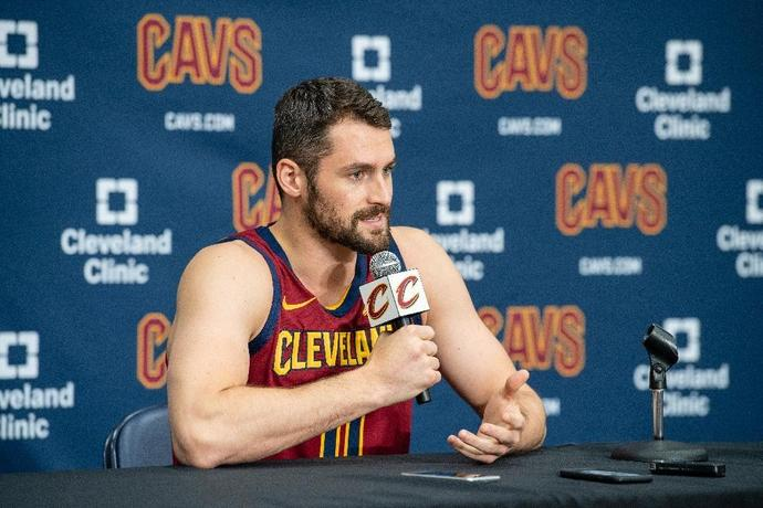 Kevin Love says he is ready to lead the Cleveland Cavaliers in the post-LeBron James era