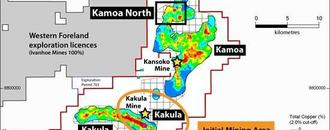 Ivanhoe Updates Kakula Copper Mine Construction Progress