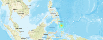 Strong earthquake shakes southern Philippines; no tsunami