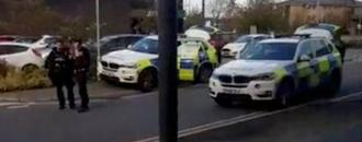 British police end armed hostage-taking in central England: BBC