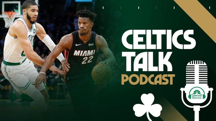 Celtics Talk Podcast What Would A C S Vs Heat Nba Playoff Series Look Like
