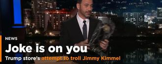 Trump Store's Attempt To Troll Jimmy Kimmel Over Chinese Merch Goes Very Wrong