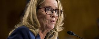 Christine Blasey Ford Breaks Public Silence, Presents Sports Illustrated Award to Larry Nassar Victim