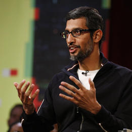 After one year of Trump, Google CEO Sundar Pichai sounds a lot different about immigration - and that might be a good thing (GOOGL, GOOG)