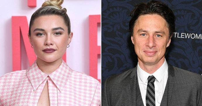 Florence Pugh Claps Back After Fan Points Out Age Difference Between Actress And Boyfriend Zach Braff