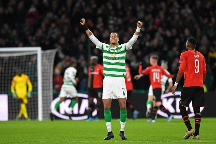 Christopher Jullien scored the only goal as Celtic beat Rangers 1-0 in the Scottish League Cup final