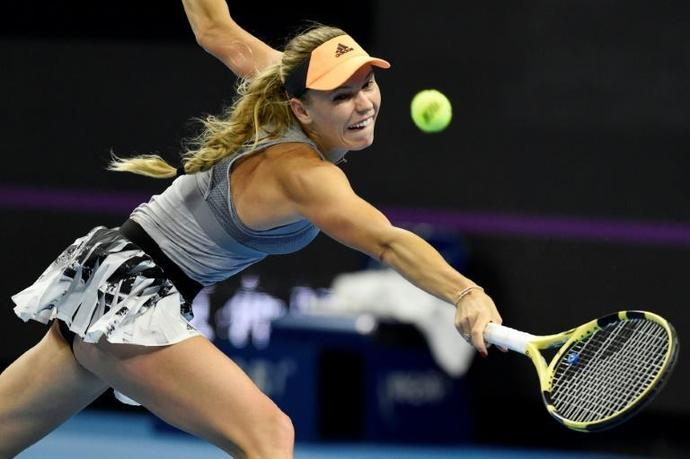 Wozniacki has won 30 WTA titles and spent 71 weeks at the top of the world rankings