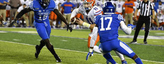 No. 9 Florida turns to Trask, giving him 1st start since
