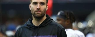 Joe Flacco wants to play but knows role is to help Sam Darnold