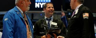 Walmart and Cisco results, trade optimism lift Wall Street