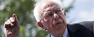 On Cue, Wall Street Challenges Bernie Sanders