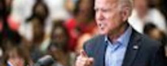 Joe Biden told a protestor at his Texas campaign rally that he