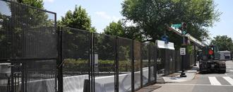 White House adds new fencing around perimeter