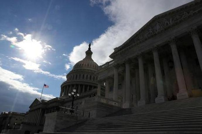 The U.S. Capitol building is seen on the 19th day of a partial government shutdown on Capitol Hill in Washington