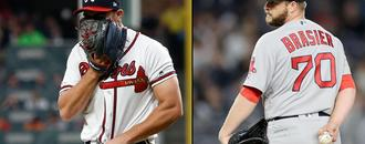 Braves, Red Sox bullpens both lose as Kimbrel sits at home