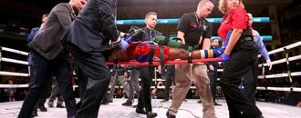 US fighter Day in coma after vicious KO: report
