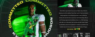 Four-Star WR Kyron Ware-Hudson verbally commits to the Oregon Ducks 2021 class