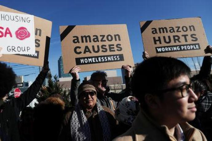 Amazons Ny Exit Spurs Reactions On Money Saved And Jobs Lost