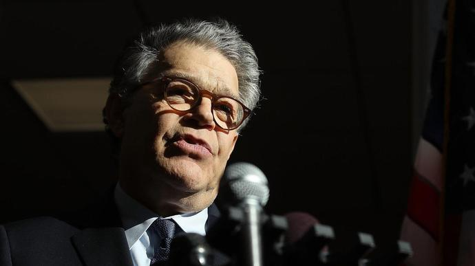 Woman Says Al Franken Told Her An Unwanted Kiss Was His 'Right As An Entertainer'