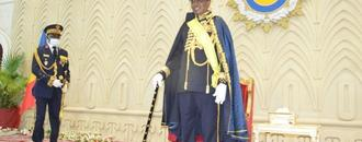 Chad president is named a marshal on independence anniversary