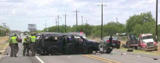 Texas Border Patrol Chase Ends In Crash, Killing At Least 5 Immigrants