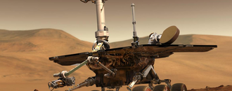 The Mars Opportunity rover might be busted even if it wakes back up