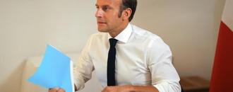 Macron warns Iran against