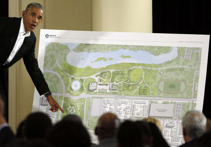 Obama Library Lawsuit