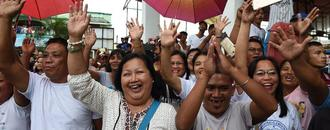 Joy as US-seized bells ring again on Philippine soil