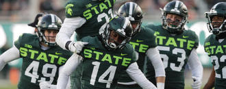 Michigan State coach Dantonio not thinking about his future