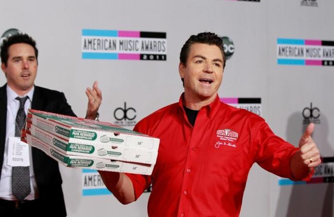 FILE PHOTO: John Schnatter, founder and CEO of Papa John