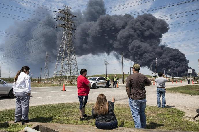 From Black Plume to Benzene Fumes, Houston